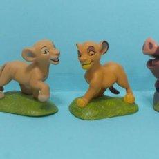 Figuras de Goma y PVC: FIGURAS PVC - EL REY LEON - DISNEY - LOTE 5. Lote 144377174