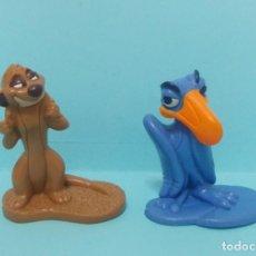Figuras de Goma y PVC: FIGURAS PVC - EL REY LEON - DISNEY - LOTE 7 - PROMOCIONALES. Lote 144377282