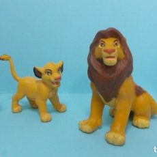 Figuras de Goma y PVC: FIGURAS PVC - EL REY LEON - DISNEY - LOTE 8. Lote 144377310
