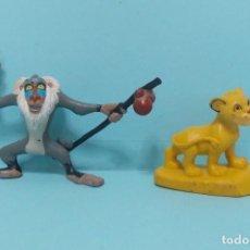 Figuras de Goma y PVC: FIGURAS PVC - EL REY LEON - DISNEY - LOTE 11. Lote 144377446