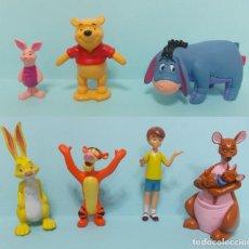 Figuras de Goma y PVC: FIGURAS PVC - WINNIE THE POOH - DISNEY - LOTE 8 - DISNEY STORE. Lote 144384538