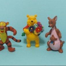Figuras de Goma y PVC: FIGURAS PVC - WINNIE THE POOH - DISNEY - BULLYLAND - LOTE 3. Lote 144384958