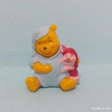 Figuras de Goma y PVC: FIGURAS PVC - WINNIE THE POOH - DISNEY - BULLYLAND - LOTE 12. Lote 144385310