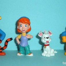 Figuras de Goma y PVC: FIGURAS PVC - WINNIE THE POOH - DISNEY - BULLYLAND - LOTE 14. Lote 144385402