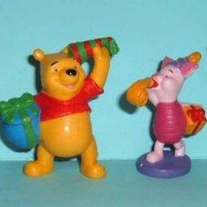 Figuras de Goma y PVC: FIGURAS PVC - WINNIE THE POOH - DISNEY - BULLYLAND - LOTE 15. Lote 144385446