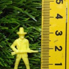 Figuras de Goma y PVC: FIGURAS PLASTICO DURO INDIOS , VAQUEROS, SOLDADOS MILITARES ETC WESTERN OESTE. Lote 144503094