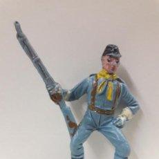 Figuras de Goma y PVC: SOLDADO FEDERAL YANKEE PARA CABALLO . REALIZADO POR COMANSI . PRIMERA EPOCA. Lote 144542130