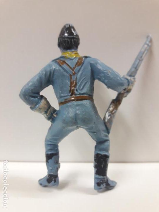 Figuras de Goma y PVC: SOLDADO FEDERAL YANKEE PARA CABALLO . REALIZADO POR COMANSI . PRIMERA EPOCA - Foto 2 - 144542130