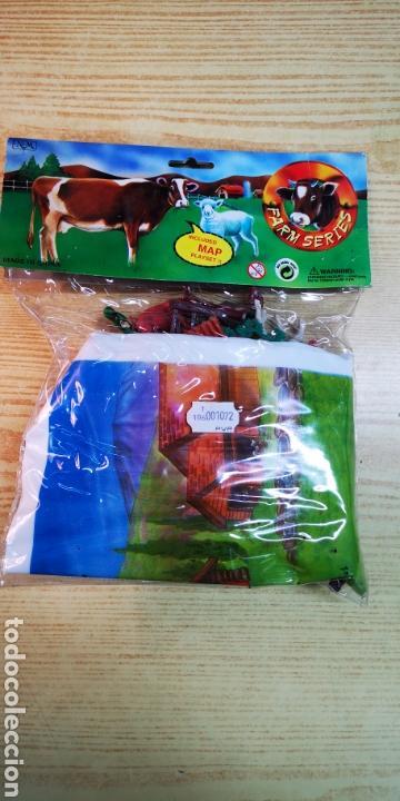 Figuras de Goma y PVC: Farm series figuras de animales con mapa - Foto 3 - 144542388