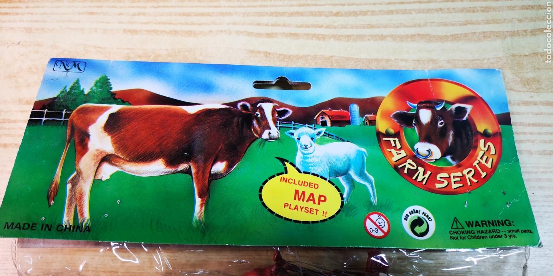 Figuras de Goma y PVC: Farm series figuras de animales con mapa - Foto 4 - 144542388