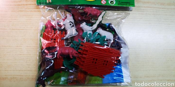 Figuras de Goma y PVC: Farm series figuras de animales con mapa - Foto 5 - 144542388