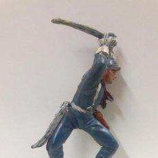Figuras de Goma y PVC: SOLDADO FEDERAL PARA CABALLO . REALIZADO POR PECH . AÑOS 50 EN GOMA. Lote 144556478