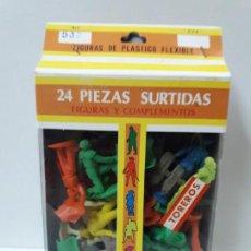 Figuras de Goma y PVC: CAJA DE TOREROS - REF 532 . REALIZADA POR JECSAN . AÑOS 60 / 70. Lote 144562914