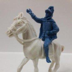 Figuras de Goma y PVC: ALGUACILILLO A CABALLO . REALIZADO POR JECSAN . EN PLASTICO MONOCOLOR. Lote 144601286