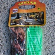 Figuras de Goma y PVC: BOLSA ZOO 85 - NOVOLINEA. Lote 144611318