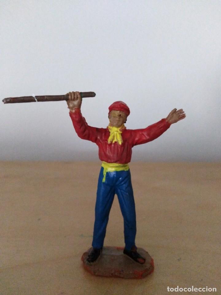 FIGURA PVC TOREROS PLAZA DE TOROS JECSAN MONOSABIO (Juguetes - Figuras de Goma y Pvc - Jecsan)