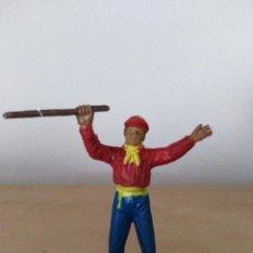 Figuras de Goma y PVC: FIGURA PVC TOREROS PLAZA DE TOROS JECSAN MONOSABIO. Lote 144624934