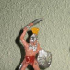 Figuras de Goma y PVC: INDIO COMANSI PINTADO DEL FUERTE . 9 CMS. Lote 144631654