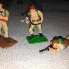 Figuras de Goma y PVC: LOTE DE 3 SOLDADOS AMERICANOS DE OLIVER PECH, PVC. Lote 144651110