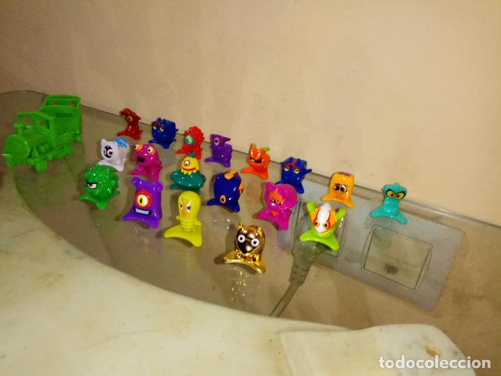 Figuras de Goma y PVC: Pack Lote 18 Zomling + Tren + Vagon Figuras 2, 4, 5, 8, 17 , 21, 22, 28, 30, 34, 35, 40,47 ,57,63,67 - Foto 2 - 144783394