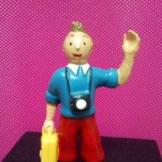 Figuras de Goma y PVC: FIGURA PVC TINTIN SIN MARCA . Lote 145024630