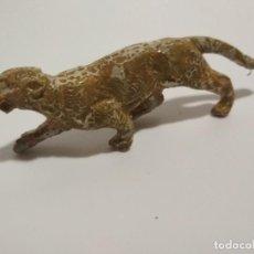 Figuras de Goma y PVC: FIGURA LEOPARDO CIRCO GOMA. Lote 145110686