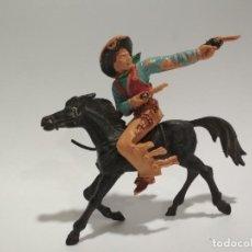 Figuras de Goma y PVC: FIGURAS COWBOY LAFREDO . Lote 145128582
