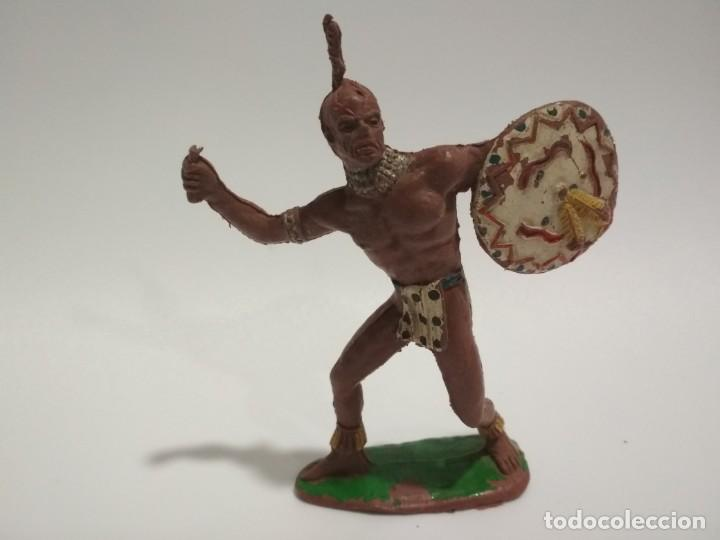 FIGURA INDIO GRANDE COMANSI (Juguetes - Figuras de Goma y Pvc - Lafredo)