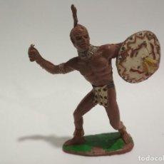 Figuras de Goma y PVC: FIGURA INDIO GRANDE COMANSI. Lote 145128658