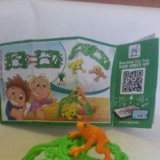 Figuras Kinder: FIGURA KINDER NATOONS + BPZ EN125. Lote 145147818