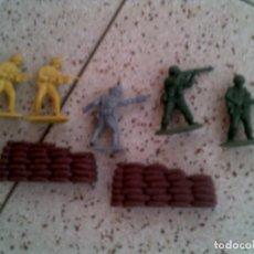 Figuras de Goma y PVC: LOTE DE MUÑECOS DE MONTA MAN Y MONTA PLEX. Lote 145181050