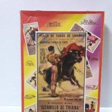 Figuras de Goma y PVC: CAJA DE LA CORRIDA DE TOROS - SIN CONTENIDO . REALIZADA POR PECH . AÑOS 60. Lote 145231774