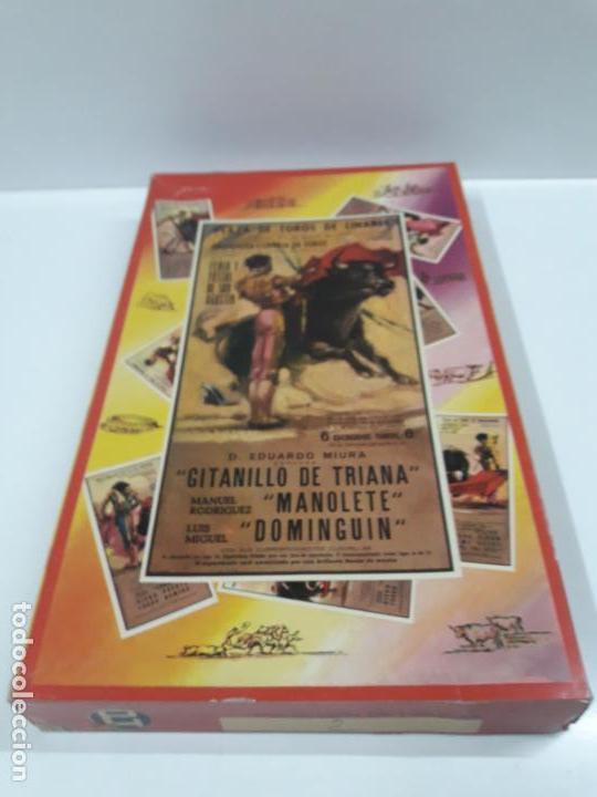 Figuras de Goma y PVC: CAJA DE LA CORRIDA DE TOROS - SIN CONTENIDO . REALIZADA POR PECH . AÑOS 60 - Foto 2 - 145231774
