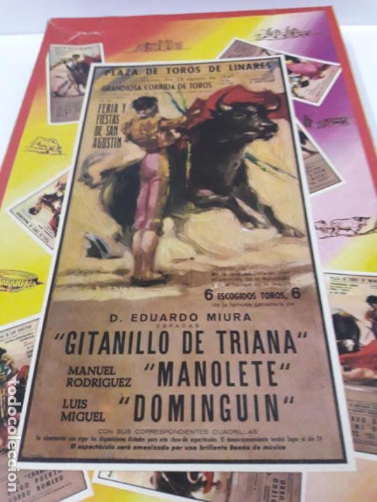 Figuras de Goma y PVC: CAJA DE LA CORRIDA DE TOROS - SIN CONTENIDO . REALIZADA POR PECH . AÑOS 60 - Foto 3 - 145231774