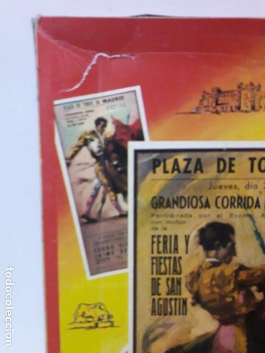 Figuras de Goma y PVC: CAJA DE LA CORRIDA DE TOROS - SIN CONTENIDO . REALIZADA POR PECH . AÑOS 60 - Foto 4 - 145231774