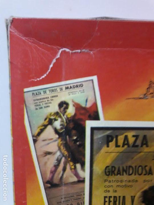 Figuras de Goma y PVC: CAJA DE LA CORRIDA DE TOROS - SIN CONTENIDO . REALIZADA POR PECH . AÑOS 60 - Foto 5 - 145231774