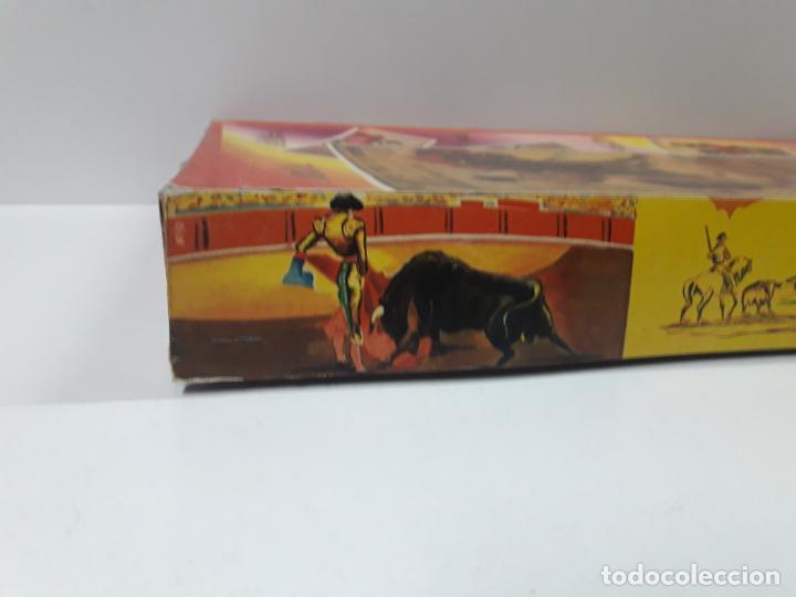 Figuras de Goma y PVC: CAJA DE LA CORRIDA DE TOROS - SIN CONTENIDO . REALIZADA POR PECH . AÑOS 60 - Foto 12 - 145231774