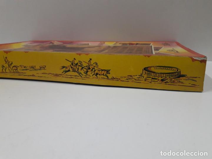 Figuras de Goma y PVC: CAJA DE LA CORRIDA DE TOROS - SIN CONTENIDO . REALIZADA POR PECH . AÑOS 60 - Foto 13 - 145231774
