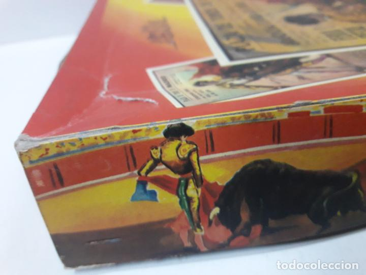 Figuras de Goma y PVC: CAJA DE LA CORRIDA DE TOROS - SIN CONTENIDO . REALIZADA POR PECH . AÑOS 60 - Foto 15 - 145231774