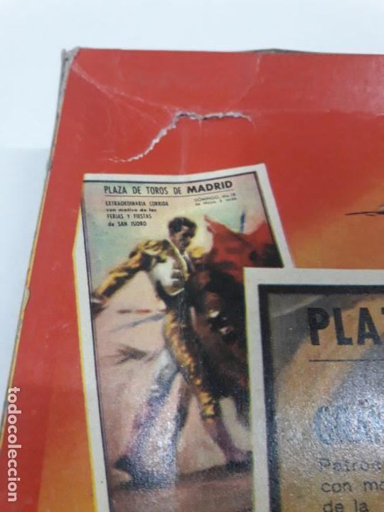 Figuras de Goma y PVC: CAJA DE LA CORRIDA DE TOROS - SIN CONTENIDO . REALIZADA POR PECH . AÑOS 60 - Foto 16 - 145231774