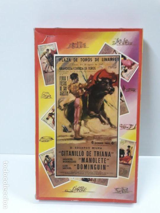 Figuras de Goma y PVC: CAJA DE LA CORRIDA DE TOROS - SIN CONTENIDO . REALIZADA POR PECH . AÑOS 60 - Foto 23 - 145231774