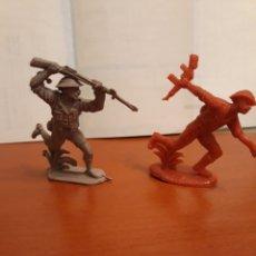Figuras de Goma y PVC: LOTE DOS FIGURAS SOLDADOS INGLESES. Lote 145273776