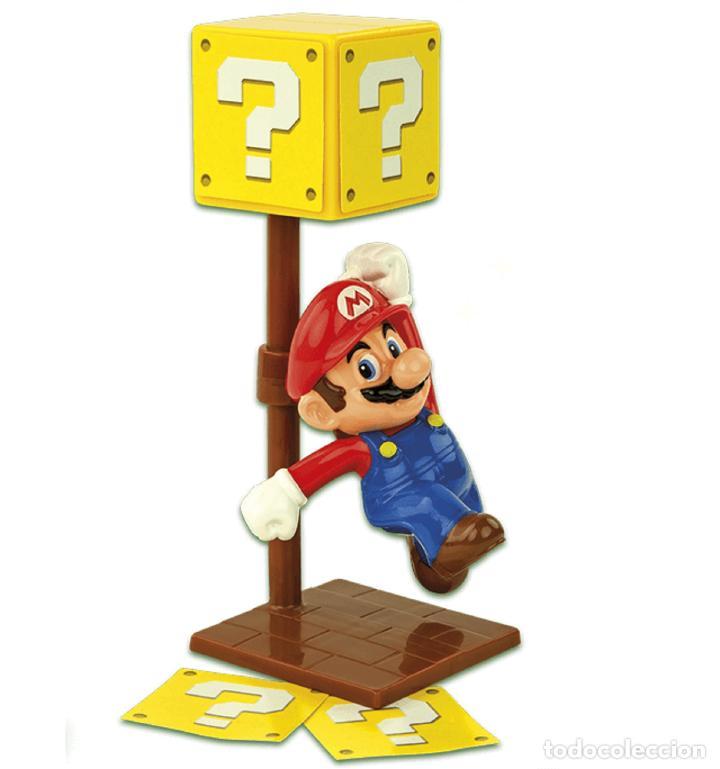 Nuevo En Embalaje Original Super Mario Bross Nintendo Luigi Happy Meal Caja Sorpresa Interrogacion