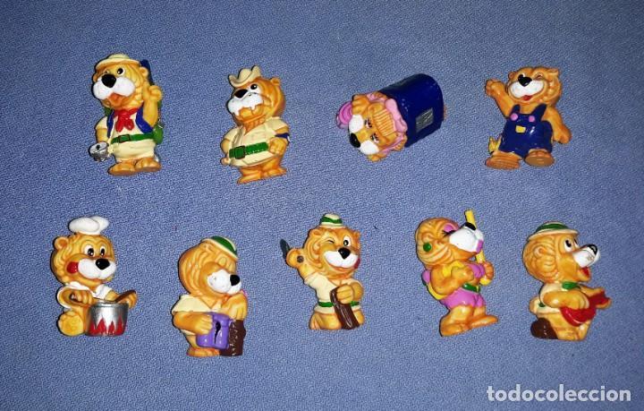 FIGURAS DE LOS HUEVOS KINDER LEONES EN MUY BUEN ESTADO ORIGINALES (Juguetes - Figuras de Gomas y Pvc - Kinder)