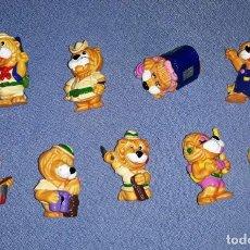 Figuras Kinder: FIGURAS DE LOS HUEVOS KINDER LEONES EN MUY BUEN ESTADO ORIGINALES . Lote 145314446