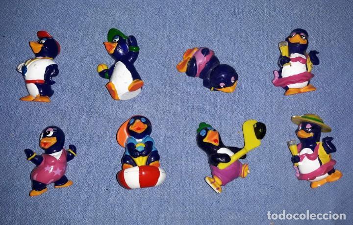FIGURAS DE LOS HUEVOS KINDER PINGUINOS EN MUY BUEN ESTADO ORIGINALES (Juguetes - Figuras de Gomas y Pvc - Kinder)