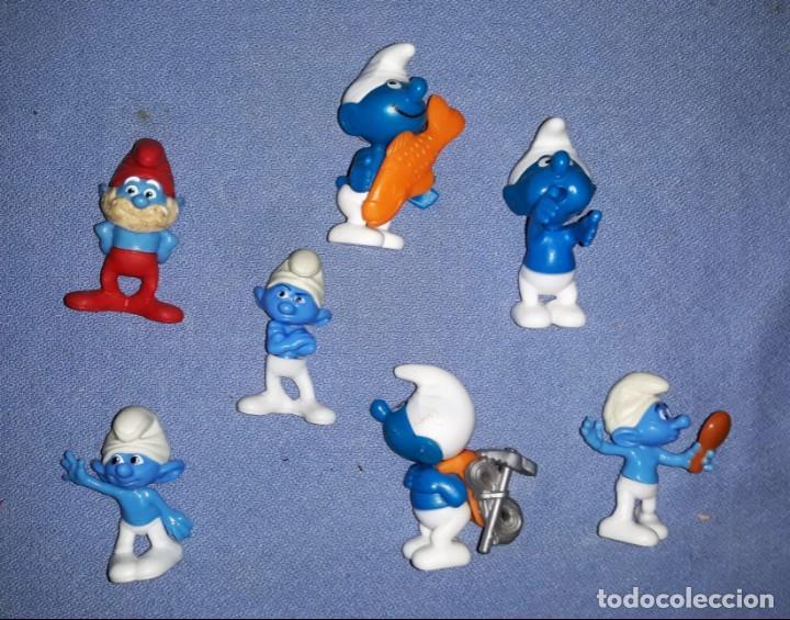 FIGURAS DE LOS HUEVOS KINDER PITUFOS EN MUY BUEN ESTADO ORIGINALES (Juguetes - Figuras de Gomas y Pvc - Kinder)