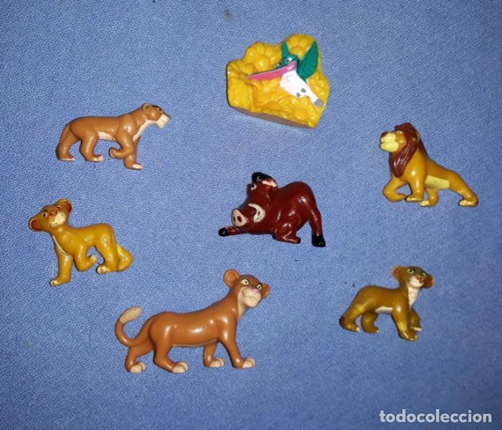 FIGURAS DE LOS HUEVOS KINDER REY LEON EN MUY BUEN ESTADO ORIGINALES (Juguetes - Figuras de Gomas y Pvc - Kinder)