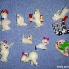 Figuras Kinder: FIGURAS DE LOS HUEVOS KINDER FANTASMAS EN MUY BUEN ESTADO ORIGINALES . Lote 145317330