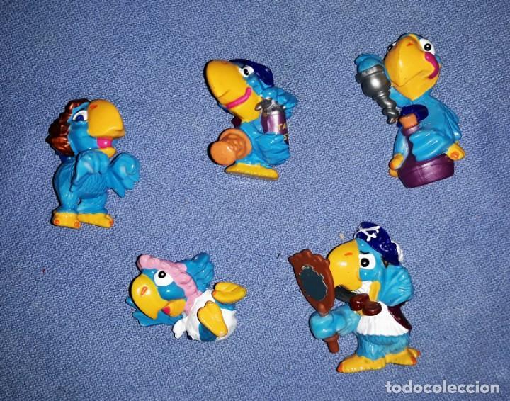 FIGURAS DE LOS HUEVOS KINDER LOROS EN MUY BUEN ESTADO ORIGINALES (Juguetes - Figuras de Gomas y Pvc - Kinder)